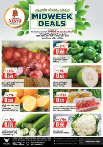 Nesto Oman Midweek Deals Leaflet Cover Page